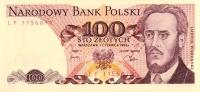100 zł, 1982 r. (banknot)