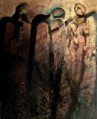 """Sulejów"", 2012, akryl, płótno,"