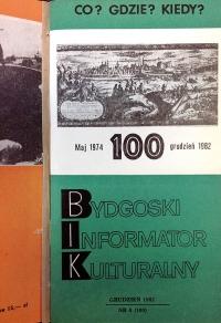 """""""Bydgoski Informator Kulturalny"""": druga czterolatka"""