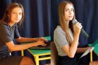 Od lewej: Marta Janowska, Dominika Smoczyńska