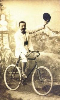 Walery C. Amrogowicz podczas kuracji w Wiershoffen (1909 r.)