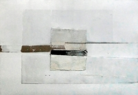 "Karolina Pikosz, ""Bliżej natury"", 2015, technika mieszana, 70×100 cm"