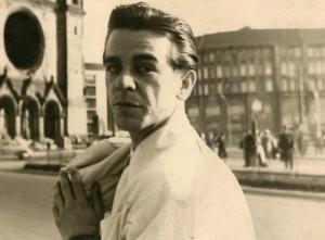 Zdzisław Nowak-Czarny w latach 50. XX w.