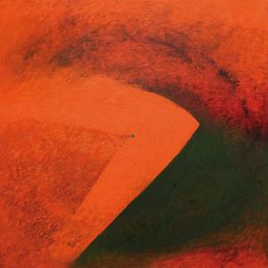 Tadeusz Wieczorek, REZONANS  Punkt zwrotny, 2012, 100x100cm, olej