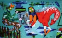 Jan Jachymiak: malarstwo na szkle