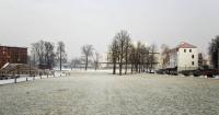 Wyspa w zimowym uśpieniu