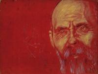 ZbyZiel, Maciej Z., olej, płyta, 25,5x29,8 cm