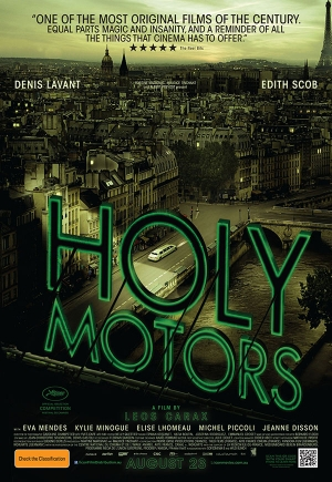 """Bydgoski Trójkąt Literacki: """"Holy Motors"""""""