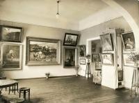 Fragment Miejskiej Galerii Obrazów i Rzeźb, lata 30.