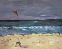"Sonia Zengel, ""Plaża w Santa Maria"" z cyklu - CUBANA / 54x73 (2009)"