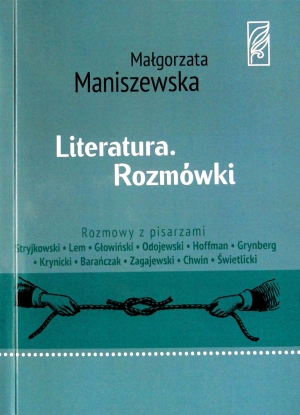 """Małgorzata Maniszewska, """"Literatura. Rozmówki"""""""