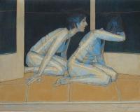 Kazimierz Drejas, Zbliżenie III, olej, 80 x 100, 2012