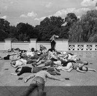Warsztaty Zbrodnia w pałacu – cała grupa uczestników
