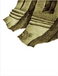 Znalezisko XIV – stopa – stupy, czyżby…?, 2011, print