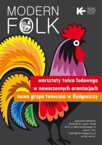 Modern folk – warsztaty tańca ludowego w nowoczesnych aranżacjach