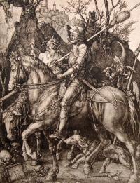 Albrecht Dürer, Rycerz, śmierć i diabeł, 1513