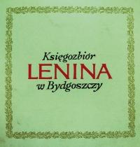 """Okładka broszury poświęconej losom księgozbioru poronińskiego, wydanej """"z okazji setnej rocznicy urodzin W.I. Lenina""""."""